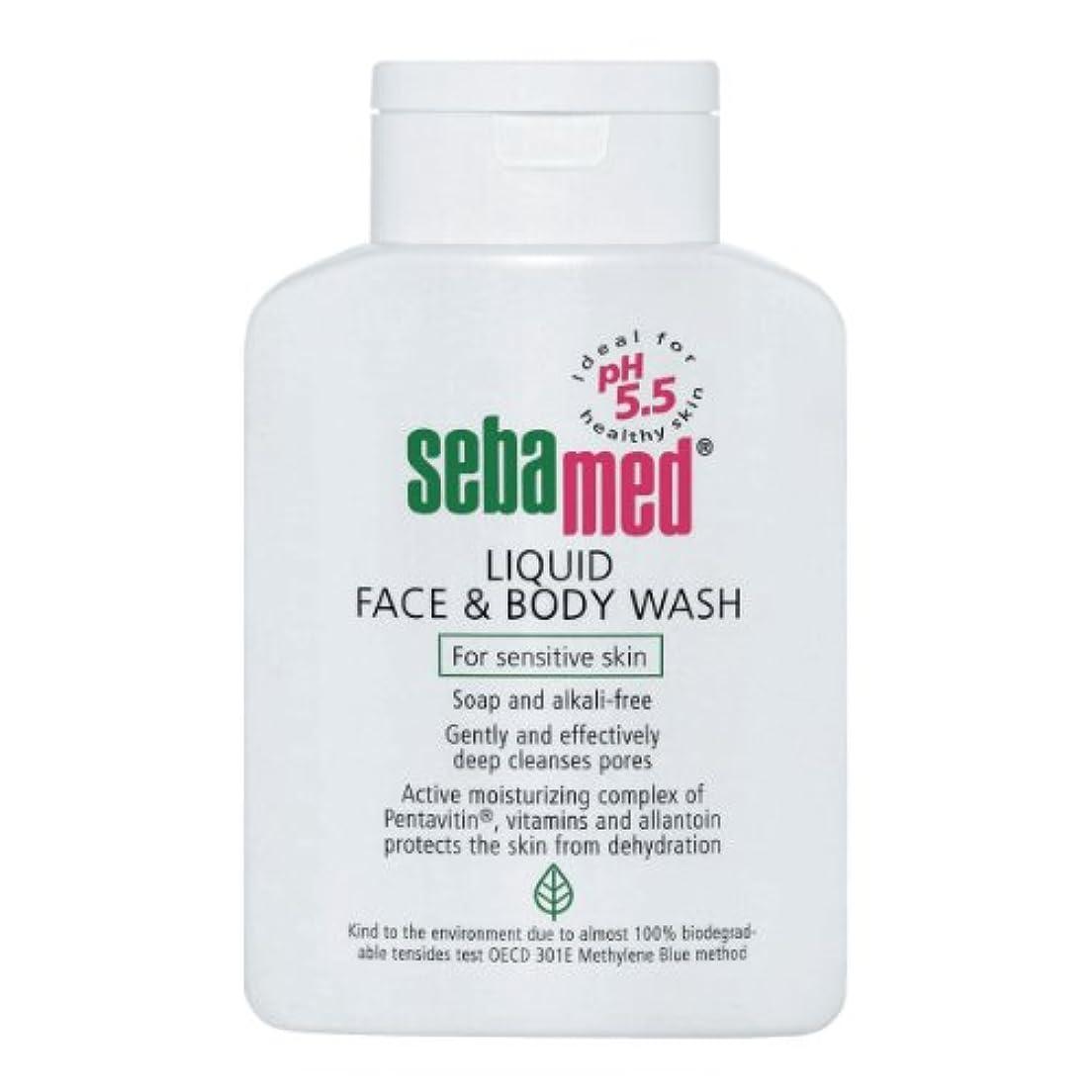 プレゼント溶岩ディスクSebamed Liquid Face And Body Wash 200ml [並行輸入品]
