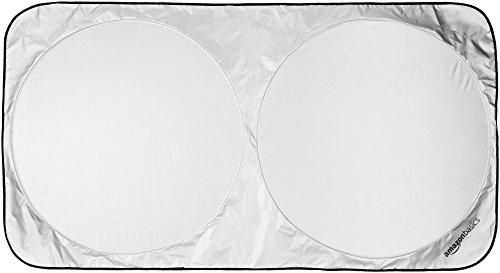 Amazonベーシック 車フロントガラス用サンシェード 日よけ 168×93cm