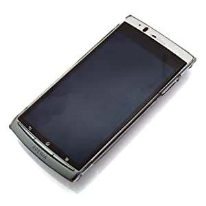 RIX Xperia arc(SO-01C)用 キズ、衝撃に強いポリカーボネイト製クリアバックパネルケース (クリアハードコート) RX-XPARC15CL