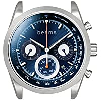 [wena project] wena wrist Chronograph Solar Silver -beams edition- WNW-HCS02/S