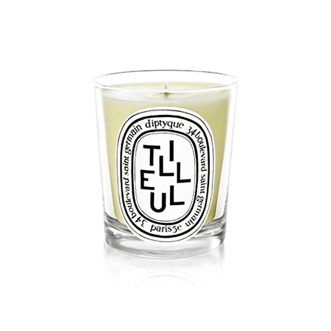 避難宇宙の熟すDiptyque Candle Tilleul / Linden Tree 190g (Pack of 6) - DiptyqueキャンドルTilleulの/菩提樹の190グラム (x6) [並行輸入品]