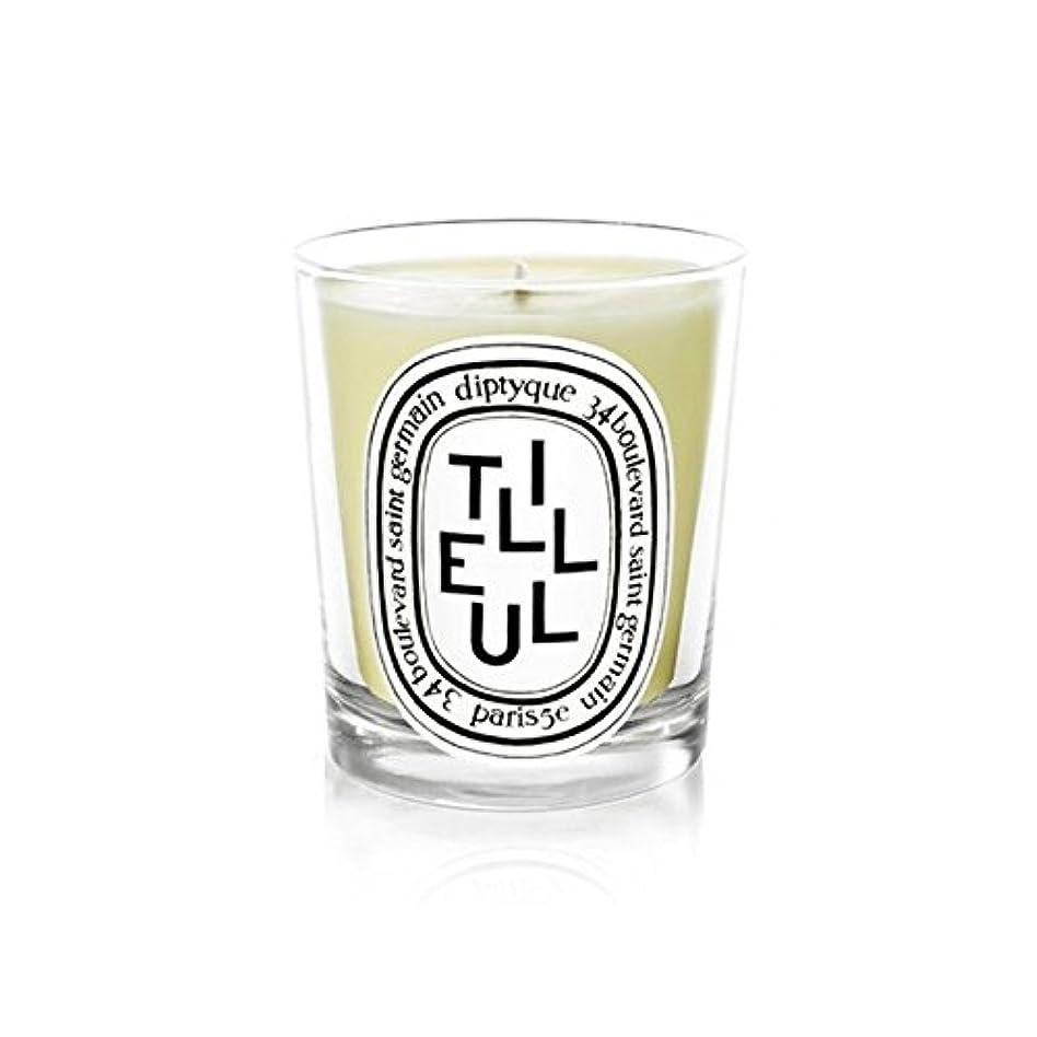 パース大臣歯車Diptyque Candle Tilleul / Linden Tree 190g (Pack of 6) - DiptyqueキャンドルTilleulの/菩提樹の190グラム (x6) [並行輸入品]