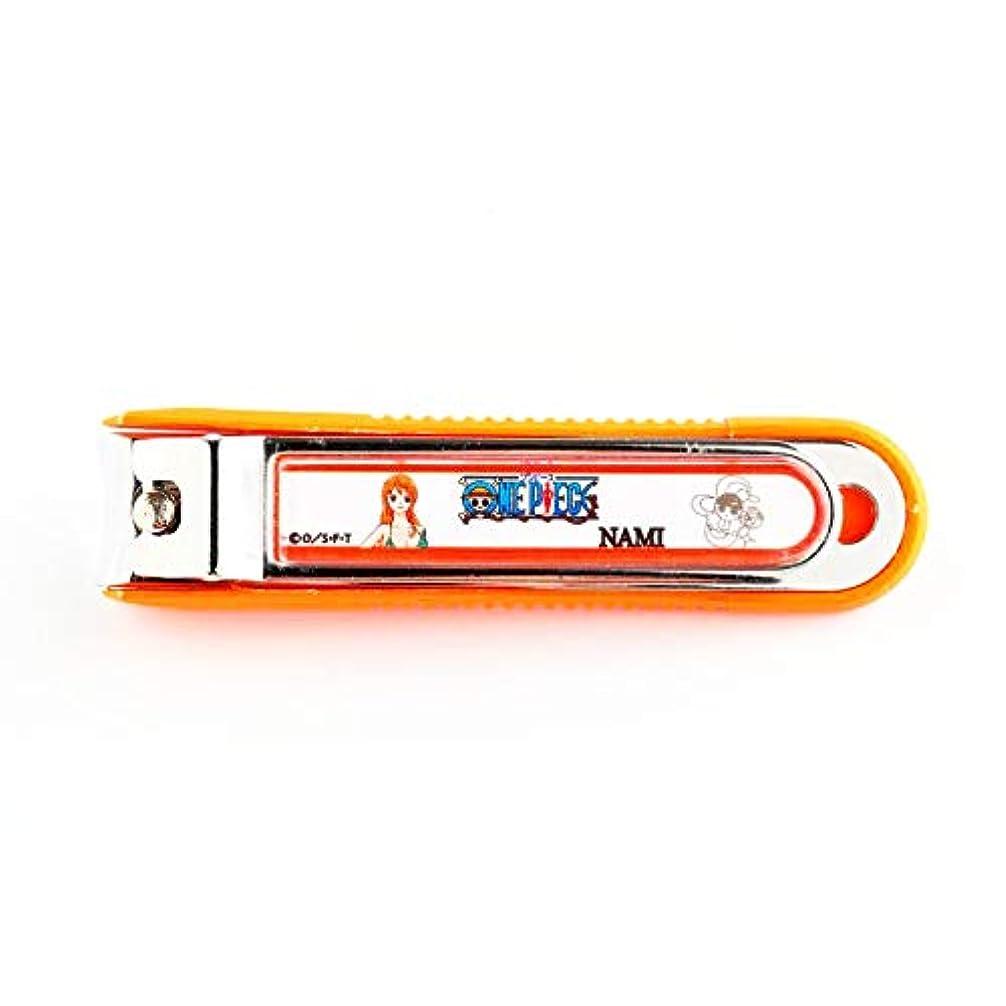 差し迫った識字簡単なニッケン刃物 デザイン小物 ナミ 1.5×2×8cm ワンピース爪切り ON-850N