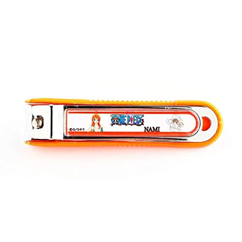 マンモス不屈スカーフニッケン刃物 デザイン小物 ナミ 1.5×2×8cm ワンピース爪切り ON-850N