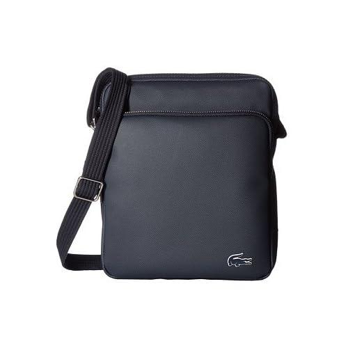 (ラコステ) LACOSTE メッセンジャー・ショルダーバッグ Small Classic Crossover Bag Black Iris 6 [並行輸入品]