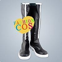★サイズ選択可★女性23CM UC096 VOCALOID China Project 楽正龍牙 コスプレ靴 ブーツ