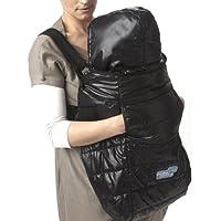 7AM Enfant Pookie Poncho Light Baby Bunting Bag, Black by 7AM Enfant