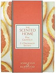 Ashleigh&Burwood サシェ×3個 ピンクグレープフルーツ Sachet×3 Pink Grapefruit アシュレイ&バーウッド