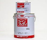 ファインウレタン 4kg セット 標準色 5分艶 ND-401【メーカー直送便/代引不可】日本ペイント 2液 外壁 塗料 ホワイト