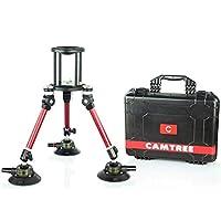 Camtree Professional電源マウント車Gripper真空吸引カップ&ボールヘッドfor DSLRビデオカメラ最大5kg/11lbs +ストレージケース(g-pm)