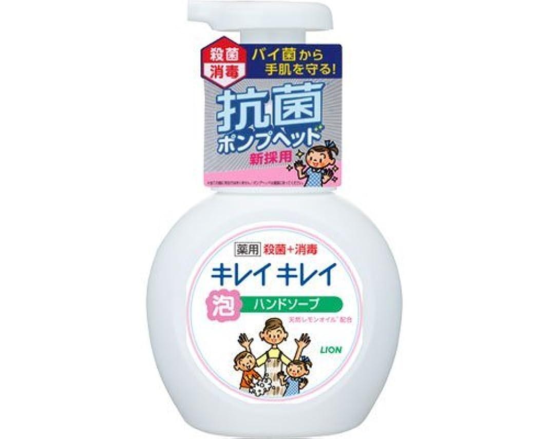 書く酸素関係キレイキレイ薬用泡ハンドソープ 250mLポンプ (ライオン) (手指洗浄)