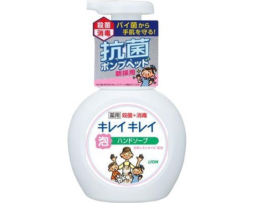 トライアスロン担保スノーケルキレイキレイ薬用泡ハンドソープ 250mLポンプ (ライオン) (手指洗浄)