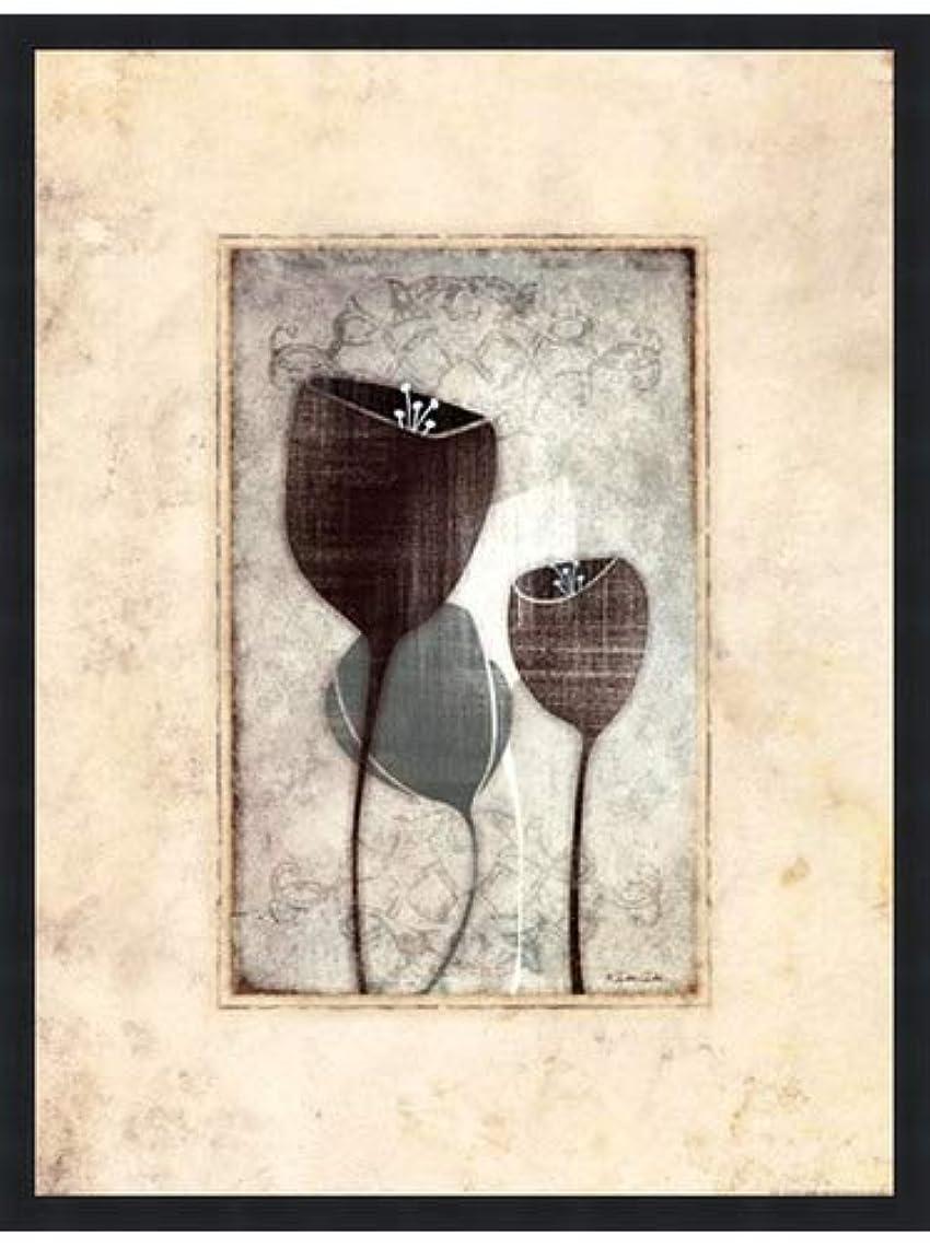 コスチュームマイナスヒゲチューリップI by Dee Dee – 18 x 24インチ – アートプリントポスター 18 x 24 Inch LE_727667-F101-18x24