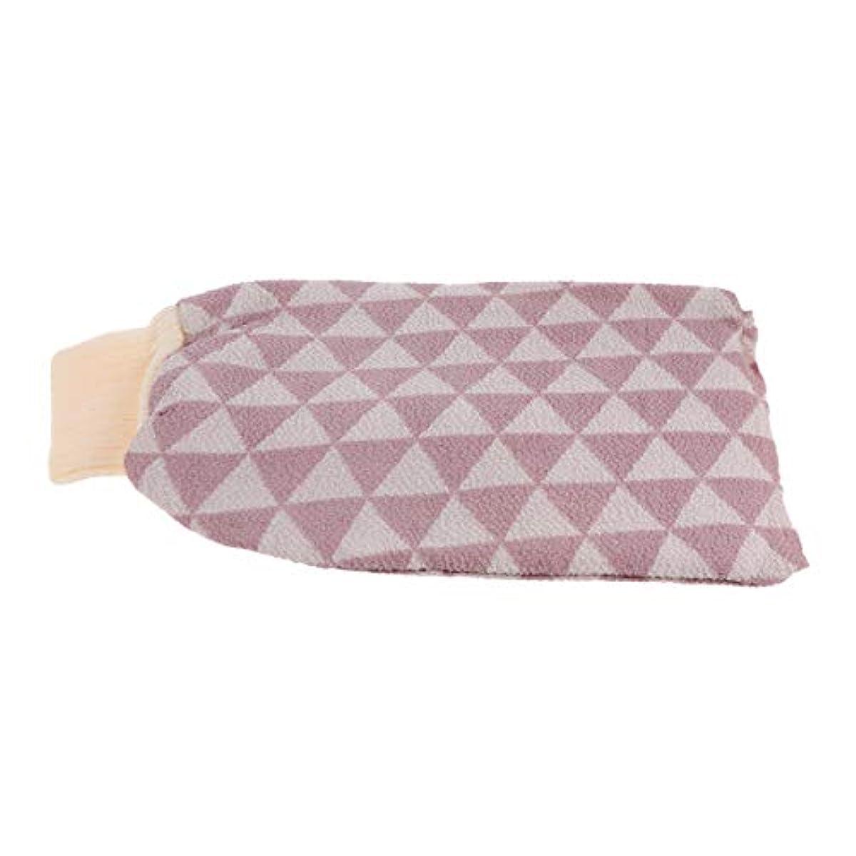 幾何学下位側Healifty バスウォッシュタオル剥離バスクロス手袋バックスクラバーバスクロスタオルボディ用ボディーシャワーシャワースパブラシ