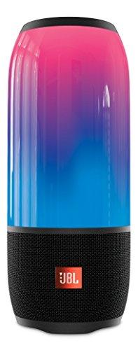 JBL PULSE 3 Bluetoothスピーカー IPX7防水/マルチカラーLED搭載/ポータブル ブラック JBLPULSE3BLKJN 【国内正規品】