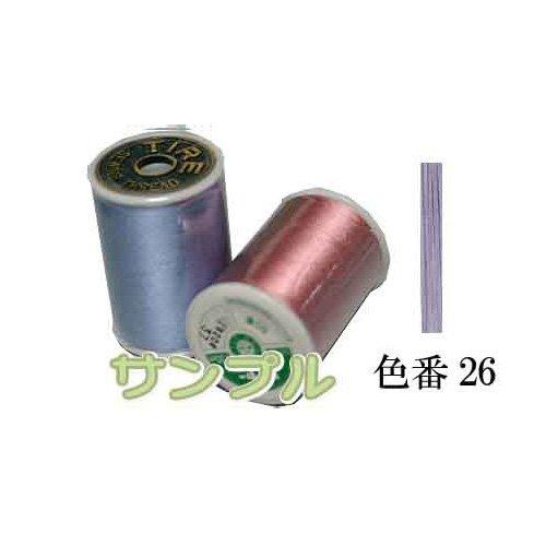 フジックス タイヤー 絹ミシン糸 130m カラー:26
