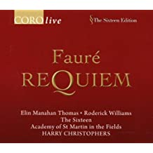 Requiem/ave Verum Corpus (Christophers, the Sixteen, Asmif)