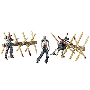 McFarlane Toys Construction Sets- The Walking Dead TV Walker Barrier Accessory [並行輸入品]