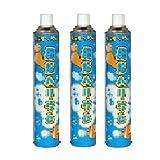 補充用ヘリウム フワフワ缶3本セット11.6L