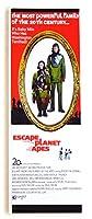 Escape from the猿の惑星映画ポスター冷蔵庫マグネット( 1.5X 4.5インチ