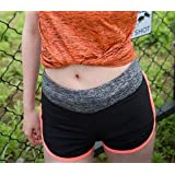 BEESCLOVER Sports Shorts Female Running Quick Dry Yoga Shorts Summer Two Pieces Anti Light Fitness Underpants Ladies Short Sport Women