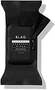 Blaq Express Charcoal Wipes 25 Pack, 25 count Pack of 25