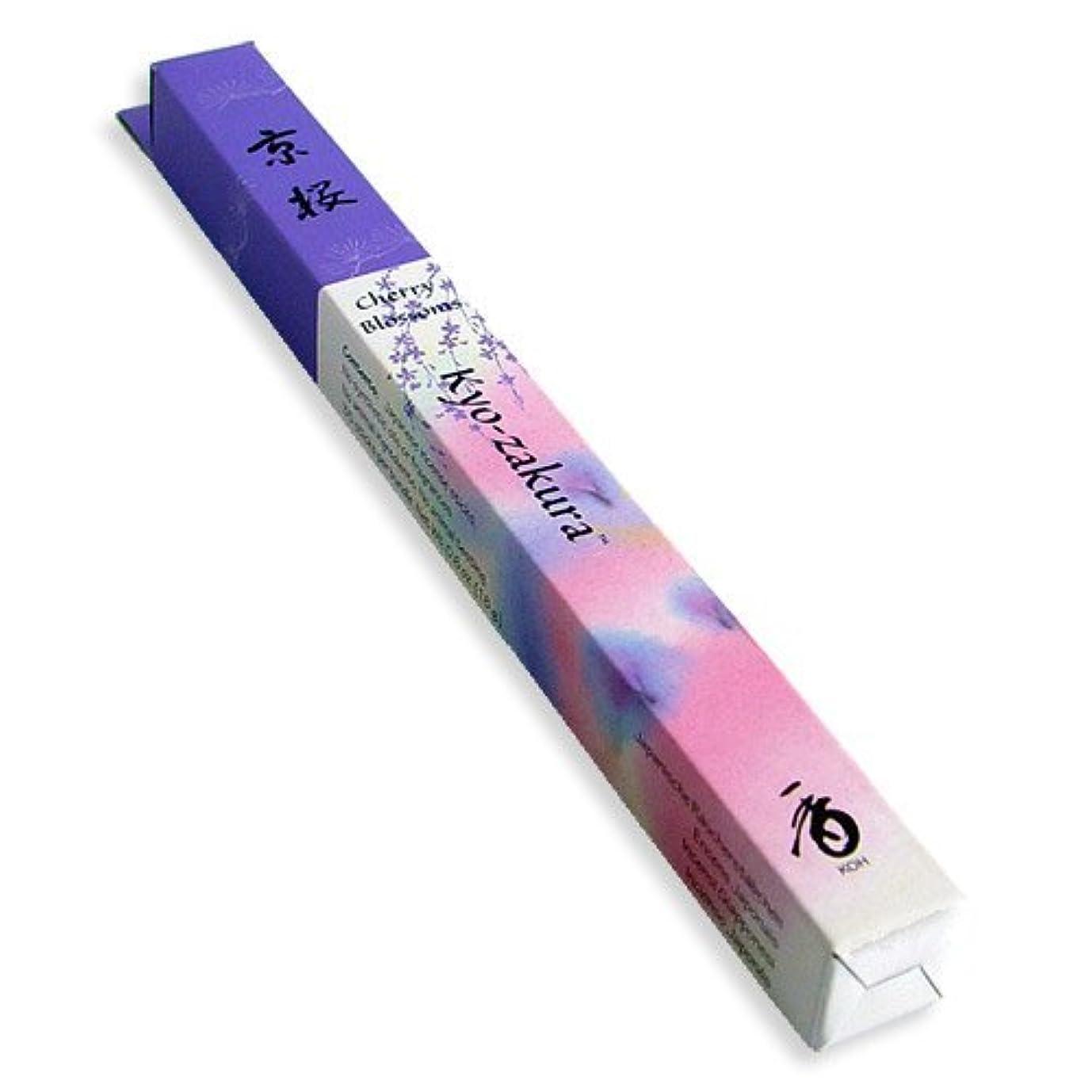 ホールド瀬戸際次Shoyeido's Kyoto Cherry Blossoms Incense 35 sticks - Kyo-zakura [並行輸入品]