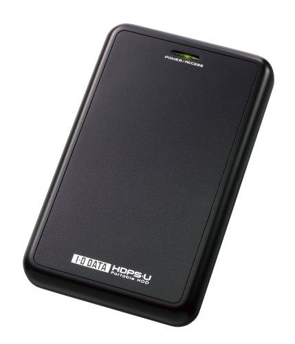 I-O DATA USB 2.0/1.1対応ポータブルハードディスク 500GB(ブラック) HDPS-U500(K)