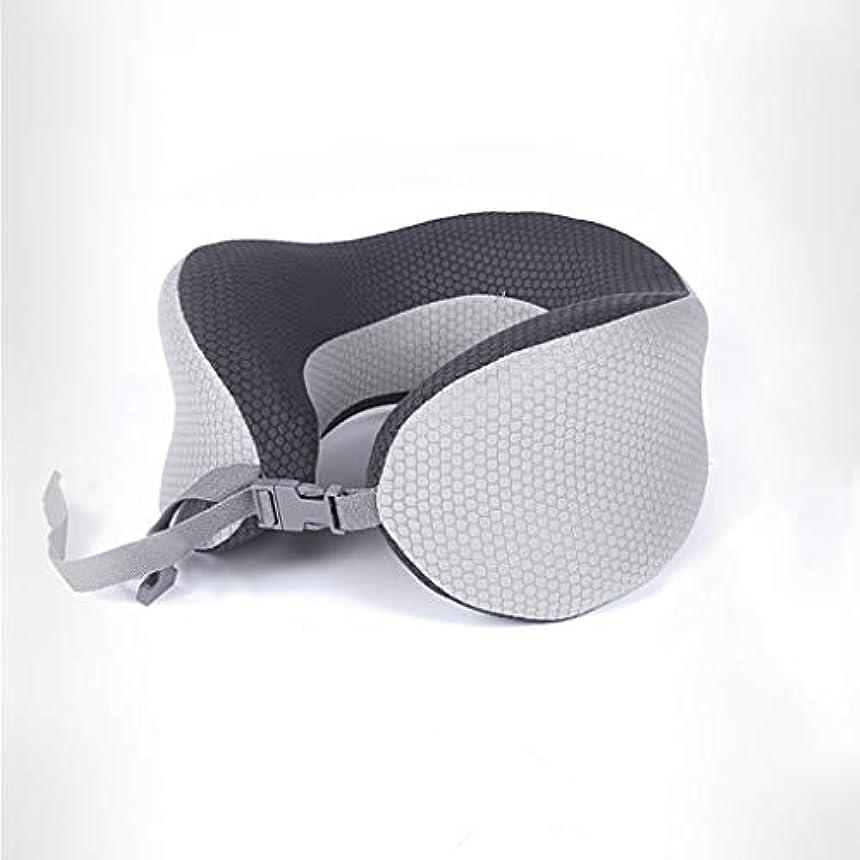 でセンチメンタル不適当メモリ綿U型ポータブル旅行航空機枕折りたたみ式首枕 JSFQ