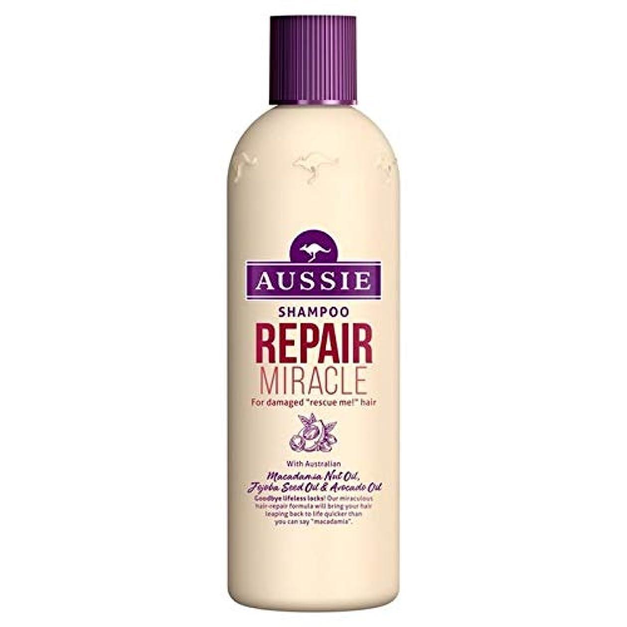 サンドイッチ汚い秘書[Aussie ] いたずらな髪の300ミリリットルのすべての種類のオージーシャンプーの修理の奇跡 - Aussie Shampoo Repair Miracle for All Kinds of Naughty Hair 300ml [並行輸入品]