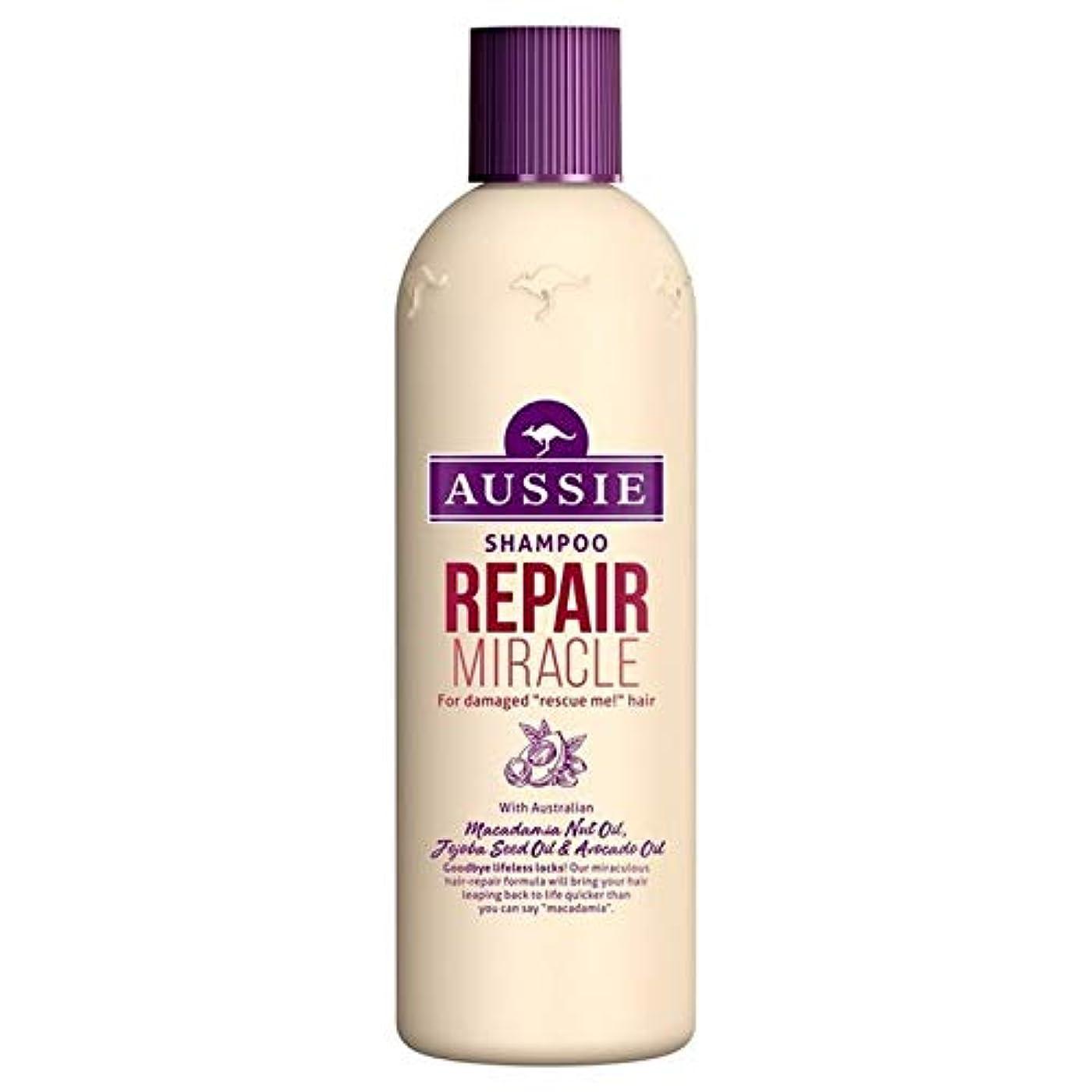 グリップセラフ病[Aussie ] いたずらな髪の300ミリリットルのすべての種類のオージーシャンプーの修理の奇跡 - Aussie Shampoo Repair Miracle for All Kinds of Naughty Hair...