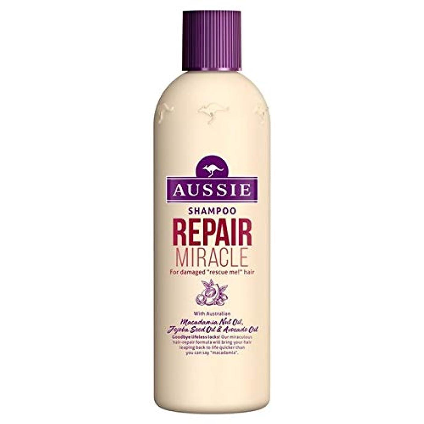 プレート最大限娘[Aussie ] いたずらな髪の300ミリリットルのすべての種類のオージーシャンプーの修理の奇跡 - Aussie Shampoo Repair Miracle for All Kinds of Naughty Hair...