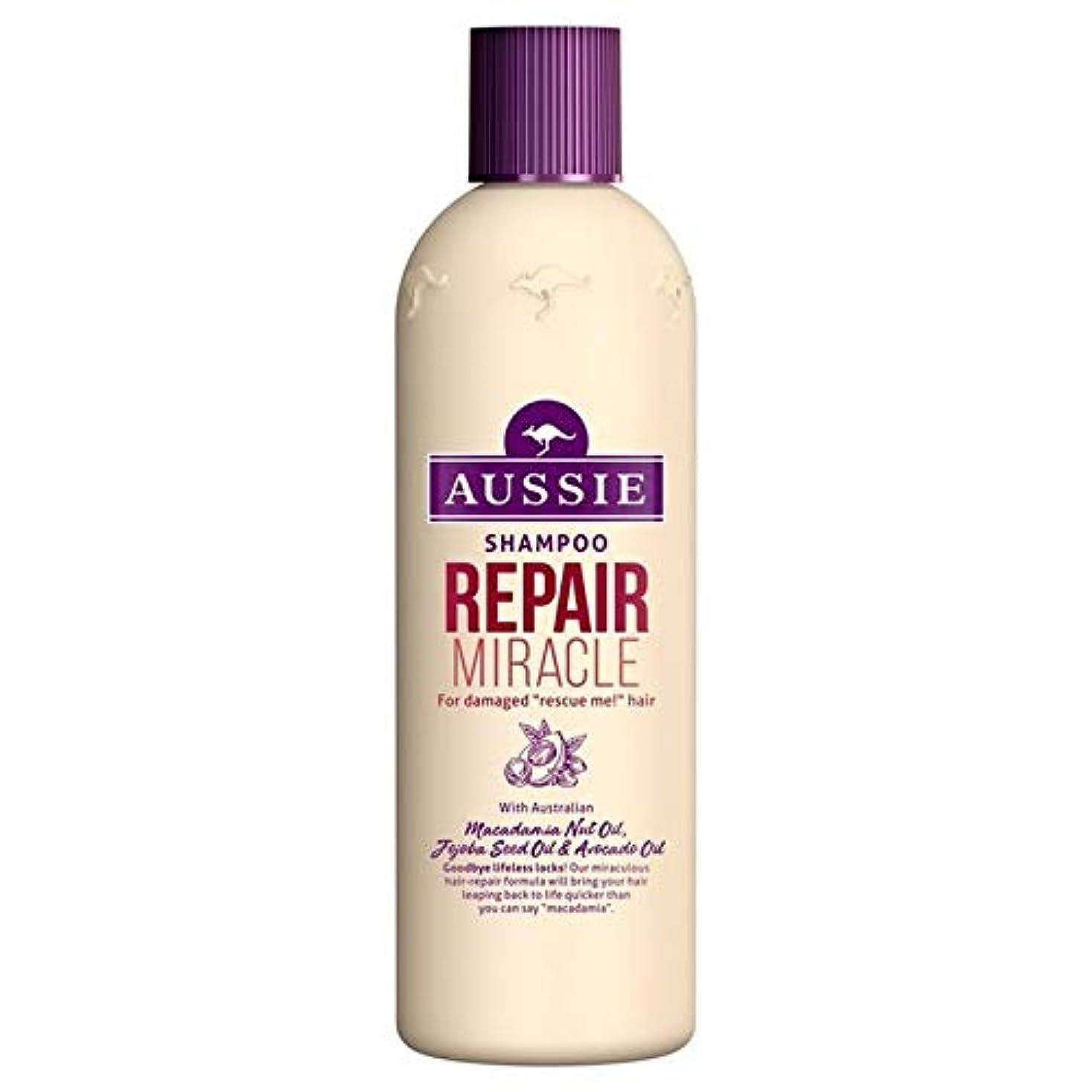 つぶす酸っぱい旅行者[Aussie ] いたずらな髪の300ミリリットルのすべての種類のオージーシャンプーの修理の奇跡 - Aussie Shampoo Repair Miracle for All Kinds of Naughty Hair...