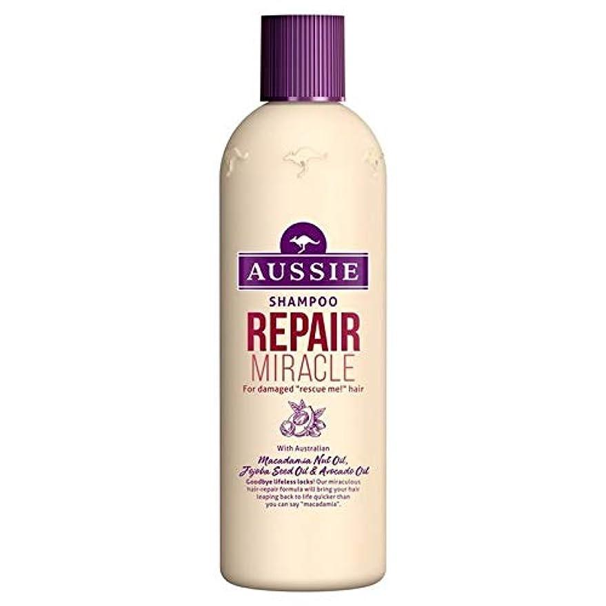 不機嫌そうな保有者テーブル[Aussie ] いたずらな髪の300ミリリットルのすべての種類のオージーシャンプーの修理の奇跡 - Aussie Shampoo Repair Miracle for All Kinds of Naughty Hair...