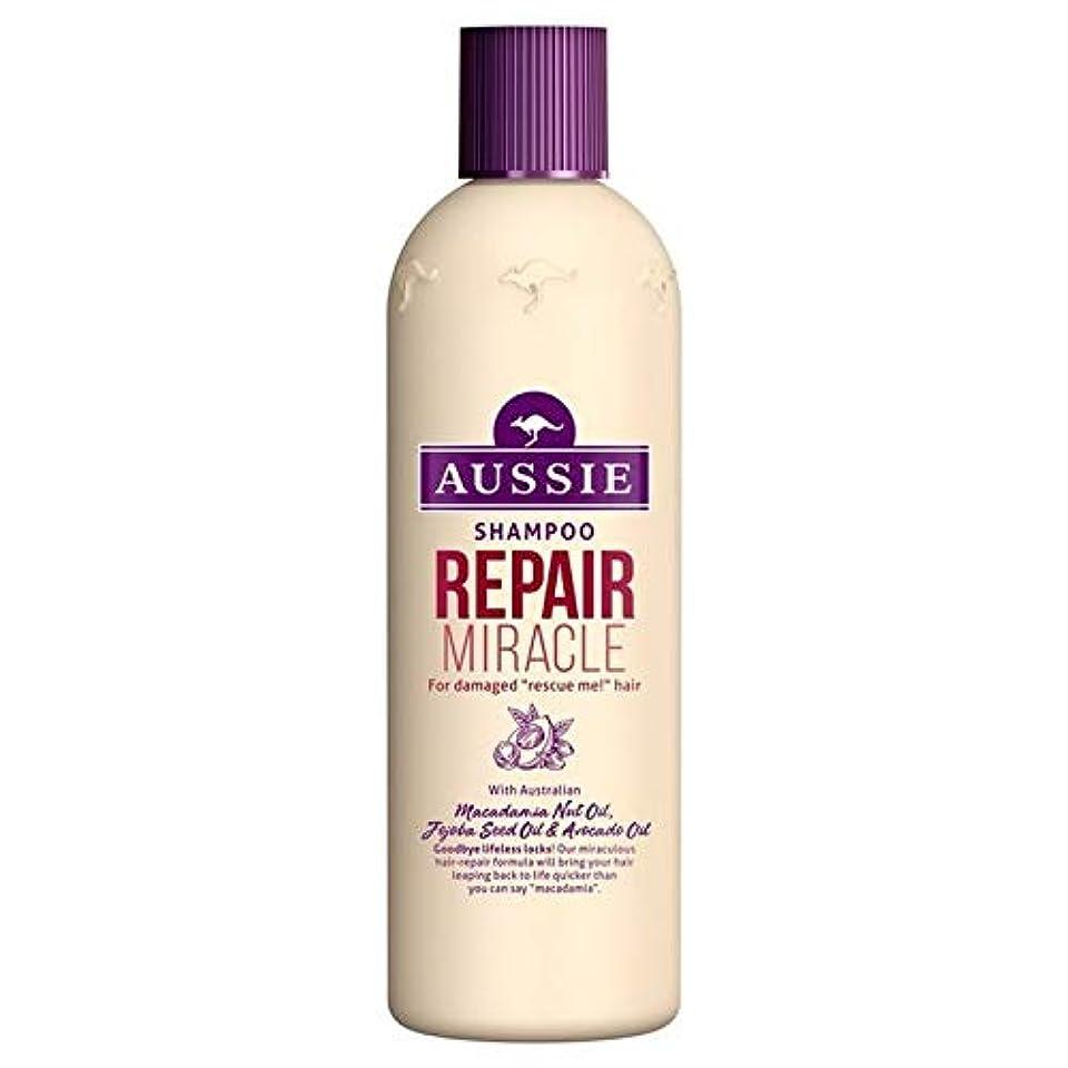 容量夜間せせらぎ[Aussie ] いたずらな髪の300ミリリットルのすべての種類のオージーシャンプーの修理の奇跡 - Aussie Shampoo Repair Miracle for All Kinds of Naughty Hair...