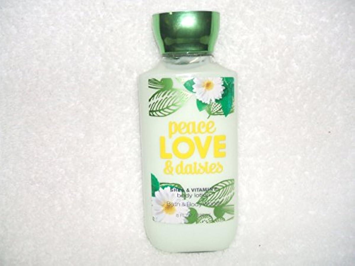 冗談で価値一時停止Bath&BodyWorks バス&ボディワークス PEACE LOVE&daisies ボディローション