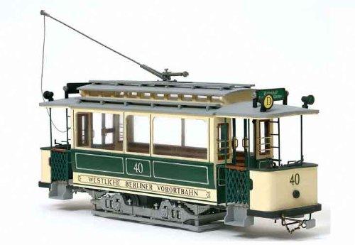 路面電車 ベルリン(木製模型キット)和訳付き