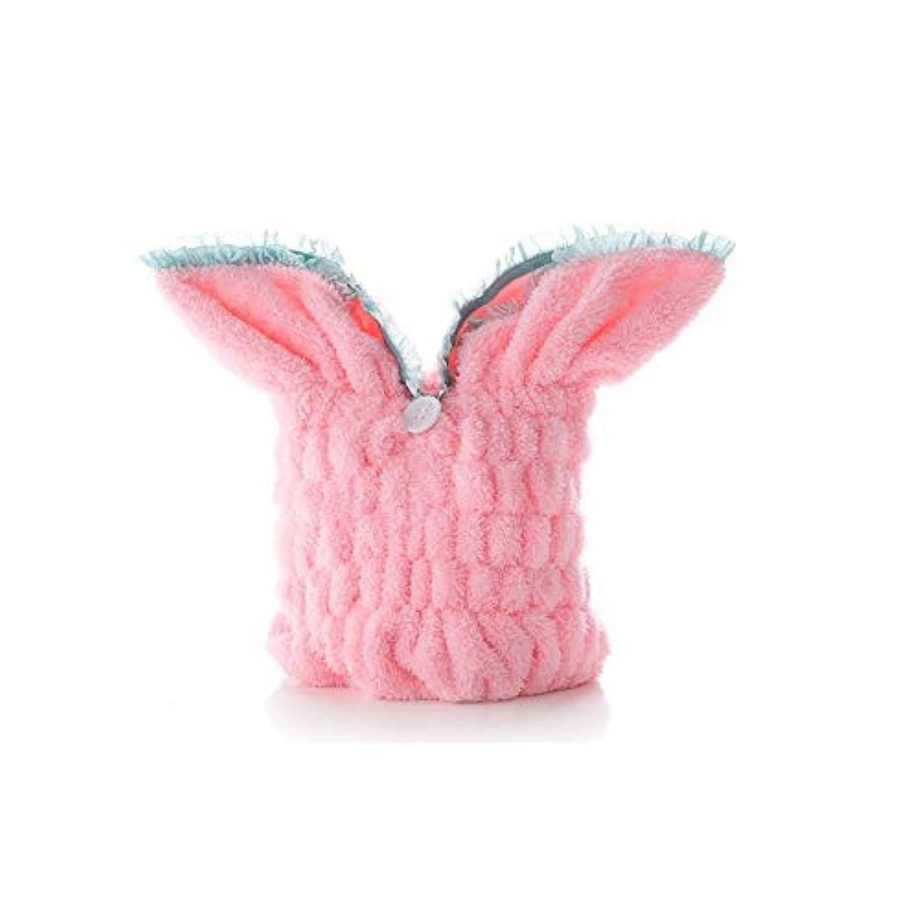 書き込み平衡バーベキューKYK キャップシャワー、女子ドライシャワーキャップデラックスは、キャップレディすべての髪の長さや太さ防かび、再利用可能なシャワーキャップシャワー。 (Color : Pink)