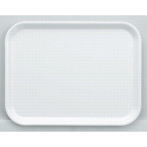 RoomClip商品情報 - お盆 (W-13)38cmメラミン長角トレーホワイト [38.2 x 29 x 1.8cm] 熱硬化性樹脂(メラミンまたはユリア樹脂) (7-109-8) 料亭 旅館 和食器 飲食店 業務用