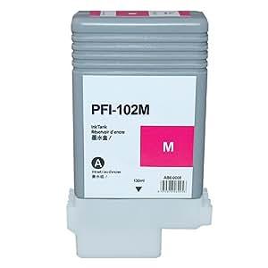 3年保証 キャノン (CANON)用【 PFI-102M 】互換 インクタンク (インクカートリッジ) iPFシリーズ対応 0897B001 ベルカラー製