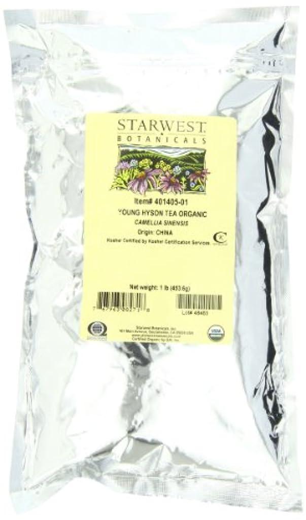 原稿小道具賛辞海外直送品Tea Young Hyson Organic, 1 Lb by Starwest Botanicals