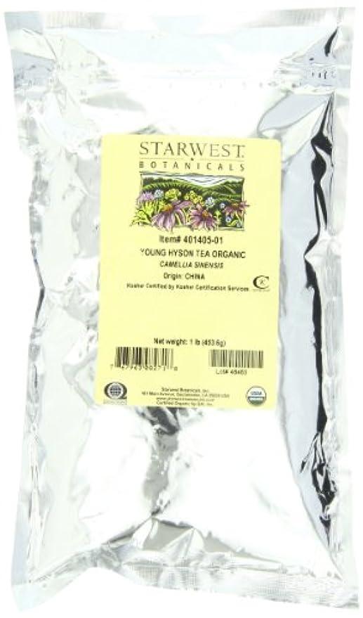 二層フライカイトタック海外直送品Tea Young Hyson Organic, 1 Lb by Starwest Botanicals