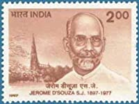 Jerome D Souza S.J Personality Rs.2 Indian Stamp