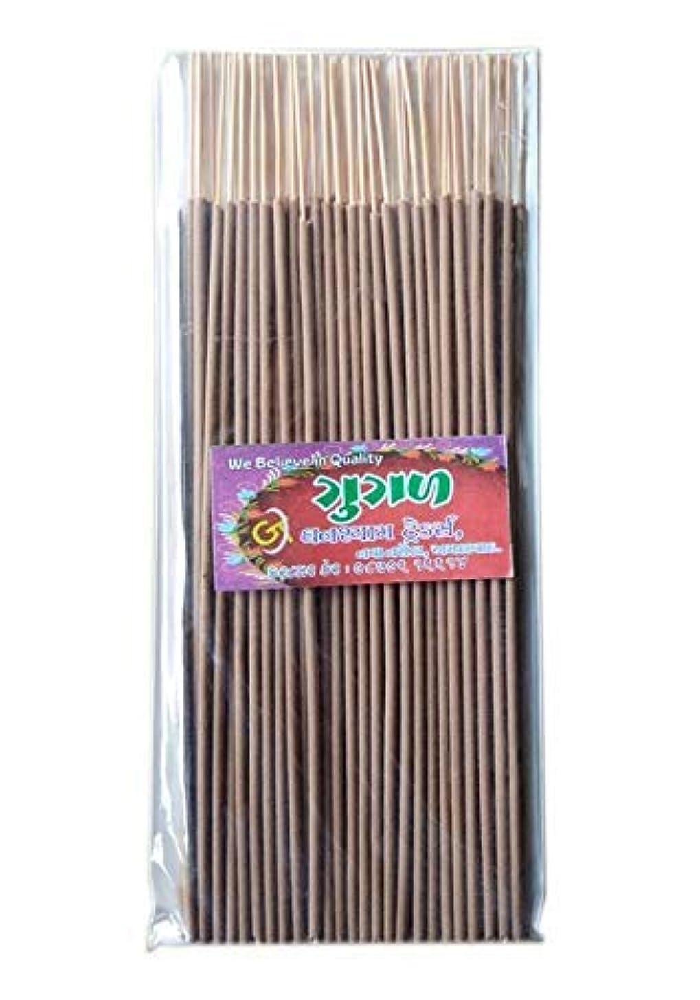 高度息切れ魔女Divyam Gugal Incense Stick/Agarbatti -Brown (500 GM. Pack)