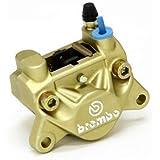 brembo(ブレンボ) 2ピストンキャリパー リア用 ゴールド 2POT・キャスティング(鋳造)タイプ 20.5161.43