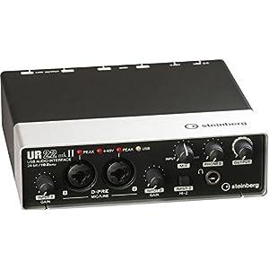 Steinberg スタインバーグ 2x2 USB2.0 24bit/192kHz オーディオインターフェース UR22mkII