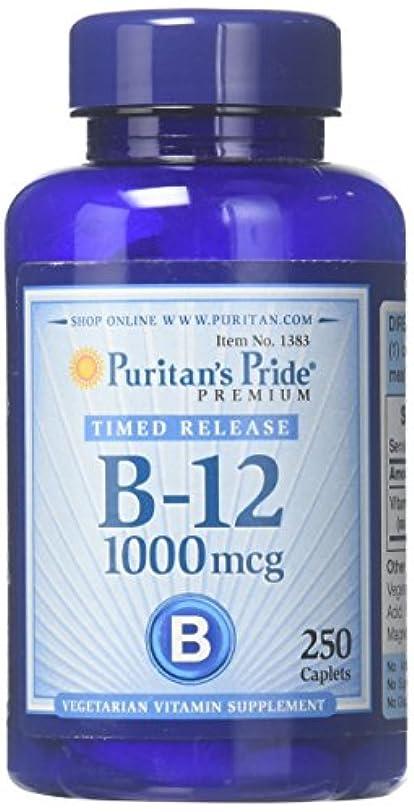 骨髄怠けた降雨ピューリタンズプライド(Puritan's Pride) ビタミンB-12 ENER-B R 1000 mcg.タブレット
