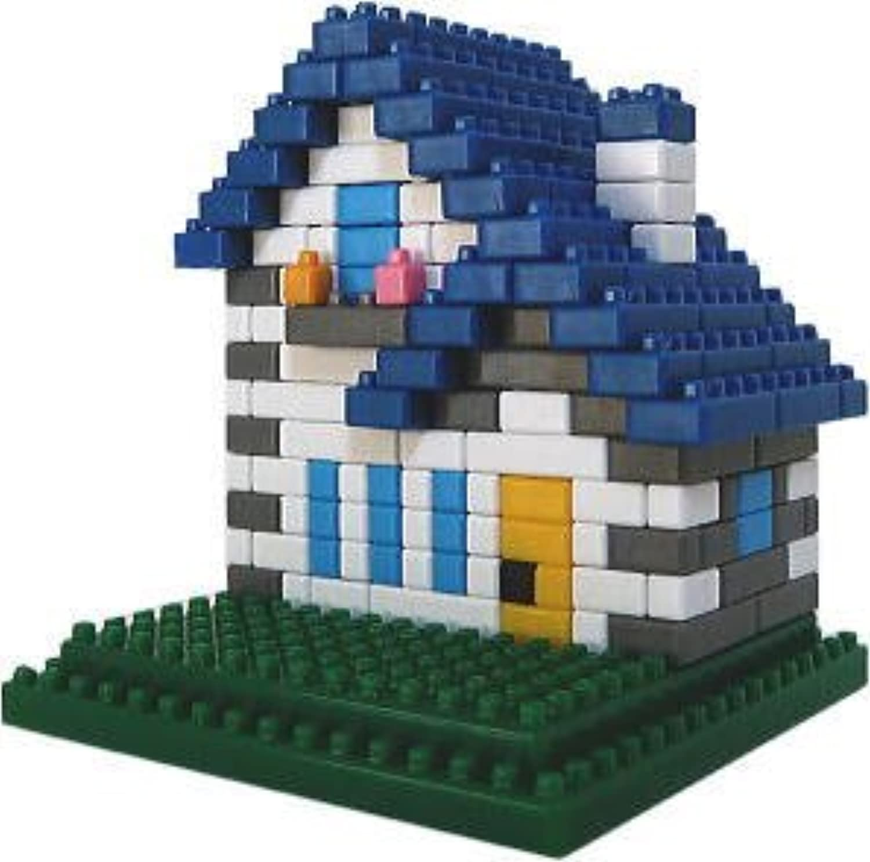 プラモブロック ちいさな街シリーズ トンガリ屋根の家BW