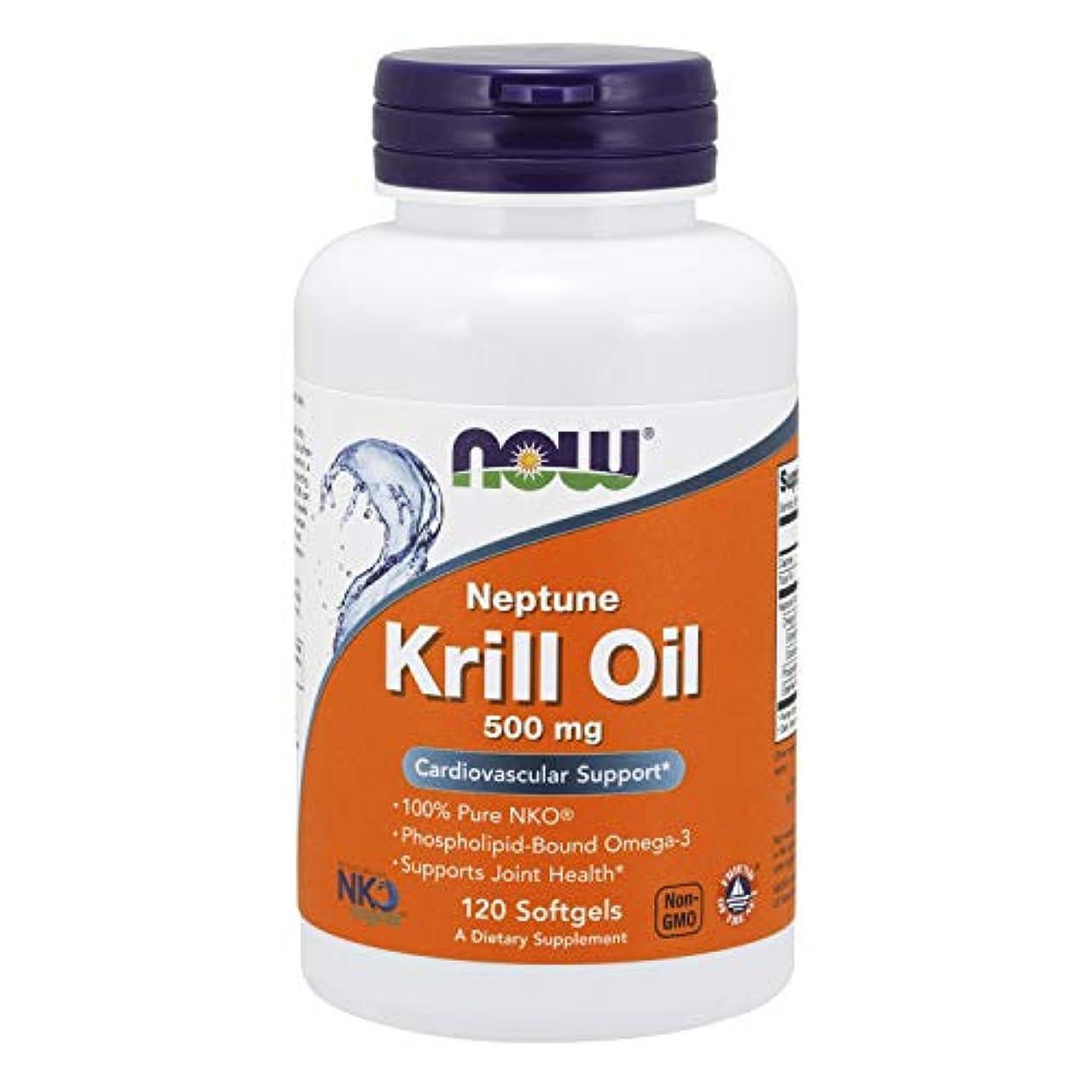 ボールタック完璧[海外直送品] ナウフーズ  Neptune Krill Oil 120 Softgels 500 mg