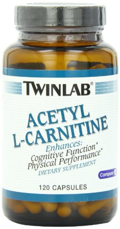 うぬぼれ同様の買収Twinlab - アセチル L-カルニチン 500 mg であります。120カプセル